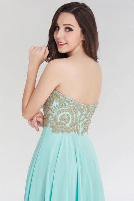 A-line  Strapless Sweetheart Sleeveless Floor-Length Bridesmaid Dress with Beadings_6