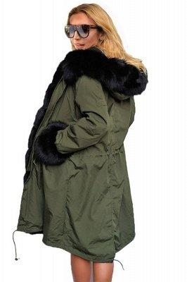 Hunt Parka Coat with Premium Black Fur Trim_4