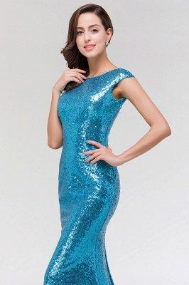 Mermaid Sequined Scoop Sleeveless Floor-Length Bridesmaid Dress_5