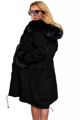 Hunt Parka Coat with Premium Black Fur Trim_6