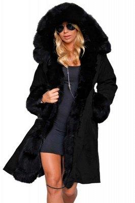 Hunt Parka Coat with Premium Black Fur Trim_1