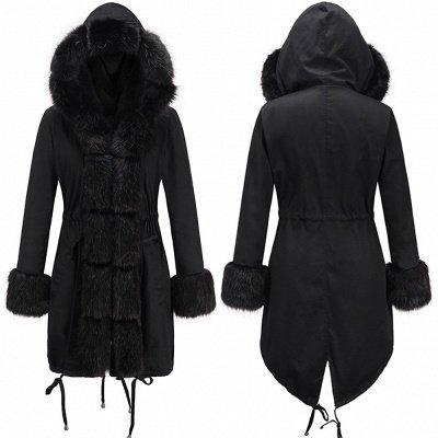 Hunt Parka Coat with Premium Black Fur Trim_8