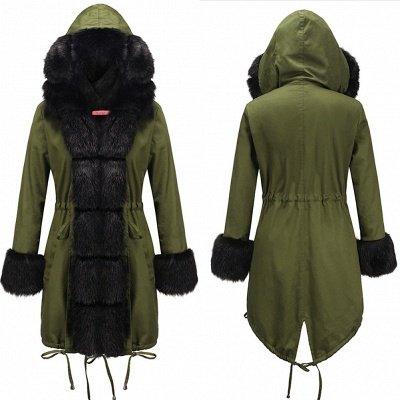 Hunt Parka Coat with Premium Black Fur Trim_7