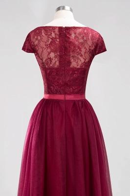 A-Line  Jewel Sleeveless Floor-Length Bridesmaid Dresses with Ruffles_6