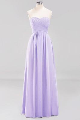 A-line  Sweetheart Strapless Ruffles Floor-length Bridesmaid Dress_20