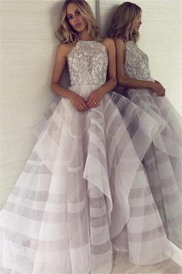 Charming Halter Sleeveless Appliques A-Line Floor-Length Prom Dress_1