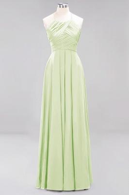 A-Line  Halter Ruffles Floor-Length Bridesmaid Dress_33