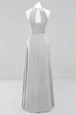 A-Line  Halter Ruffles Floor-Length Bridesmaid Dress_29