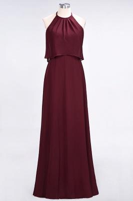 A-Line Jewel Sleeveless Floor-Length  Bridesmaid Dress_2