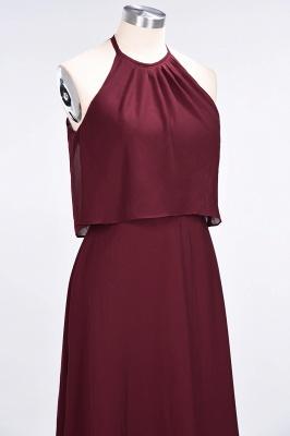 A-Line Jewel Sleeveless Floor-Length  Bridesmaid Dress_6