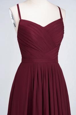 A-Line Spaghetti-Straps Sweetheart Sleeveless Floor-Length  Bridesmaid Dress with Ruffles_4
