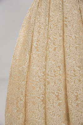 Glamorous Ball Gown Spaghetti-Straps Sweetheart  Floor-Length Tulle Lace Wedding Dress_10