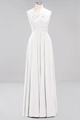 A-Line  Halter Ruffles Floor-Length Bridesmaid Dress_1