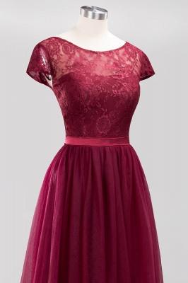 A-Line  Jewel Sleeveless Floor-Length Bridesmaid Dresses with Ruffles_5