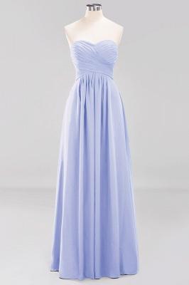 A-line  Sweetheart Strapless Ruffles Floor-length Bridesmaid Dress_21