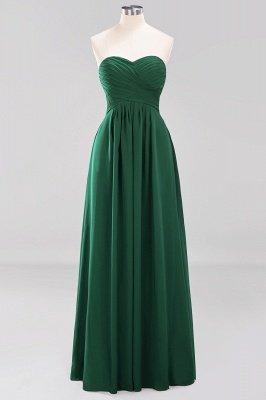 A-line  Sweetheart Strapless Ruffles Floor-length Bridesmaid Dress_30