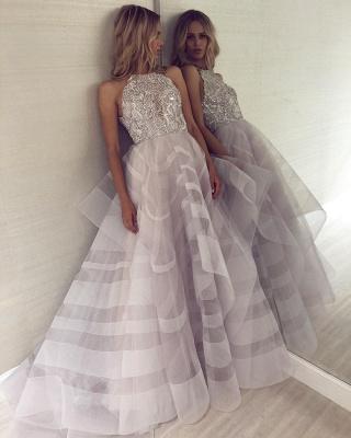 Charming Halter Sleeveless Appliques A-Line Floor-Length Prom Dress_4