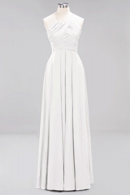 A-Line  Halter Ruffles Floor-Length Bridesmaid Dress_1