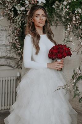 Glamorous Applique  Side slit Sexy Mermaid Wedding Dresses_2