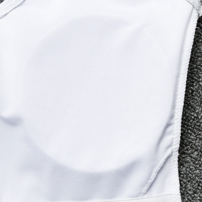 V-neck White One Piece Prints Leaves Swimwear_6