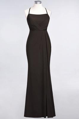 Mermaid Spaghetti-Straps Sleeveless Floor-Length spandex Lace Bridesmaid Dress with Ruffle_10