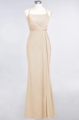 Mermaid Spaghetti-Straps Sleeveless Floor-Length spandex Lace Bridesmaid Dress with Ruffle_13