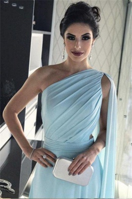 Newly One-Shoulder A-Line Prom Dresses_4