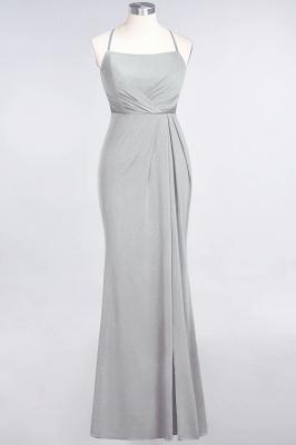 Mermaid Spaghetti-Straps Sleeveless Floor-Length spandex Lace Bridesmaid Dress with Ruffle_26