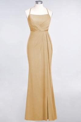 Mermaid Spaghetti-Straps Sleeveless Floor-Length spandex Lace Bridesmaid Dress with Ruffle_12