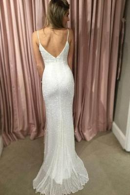 Glamorous Spaghetti-Strpas Sexy Mermaid Prom Dresses_2