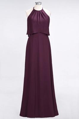 A-Line Jewel Sleeveless Floor-Length  Bridesmaid Dress_1
