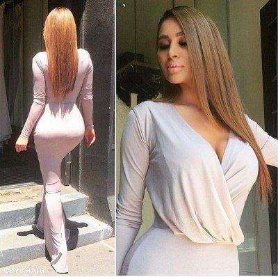 Elegant V-neck Long-Sleeve Bodycon Floor-length Bridesmaid Dress_4
