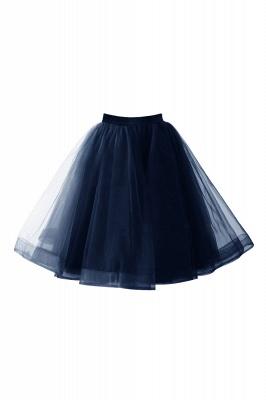 Alluring Tulle Short A-line Skirts   Elastic Women's Skirts_9