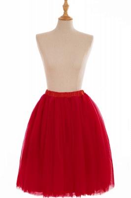 Nifty Short A-line Mini Skirts   Elastic Women's Skirts_5