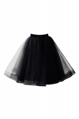 Alluring Tulle Short A-line Skirts   Elastic Women's Skirts_10