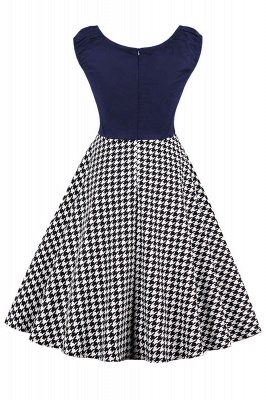 Wonderful Scoop Cap-Sleeves A-line Fashion Dresses | Knee-Length Women's Dresses_5
