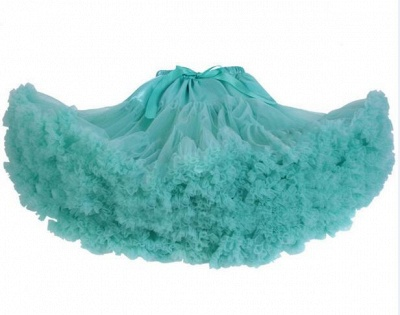 Marvelous Tulle Mini A-line Skirts | Elastic Bowknot Women's Skirts_9