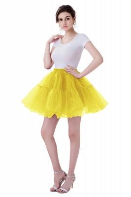 Brilliant Tulle Mini Short A-line Skirts | Elastic Women's Skirts_6
