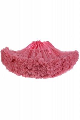 Marvelous Tulle Mini A-line Skirts | Elastic Bowknot Women's Skirts_3