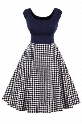 Wonderful Scoop Cap-Sleeves A-line Fashion Dresses | Knee-Length Women's Dresses_2