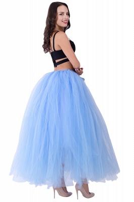 Fascinating Tulle Floor-Length Ball-Gown Skirts   Elastic Women's Skirts_18