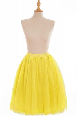 Nifty Short A-line Mini Skirts   Elastic Women's Skirts_11