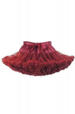 Marvelous Tulle Mini A-line Skirts | Elastic Bowknot Women's Skirts_6