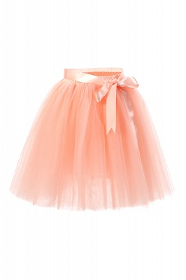 Amazing Tulle Short Mini Ball-Gown Skirts | Elastic Women's Skirts_8