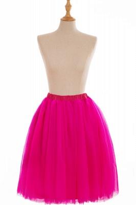 Nifty Short A-line Mini Skirts   Elastic Women's Skirts_6