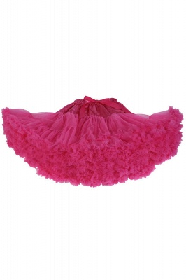 Marvelous Tulle Mini A-line Skirts | Elastic Bowknot Women's Skirts_5