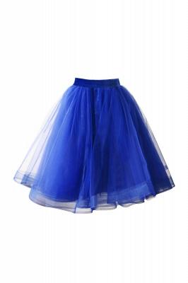 Alluring Tulle Short A-line Skirts   Elastic Women's Skirts_8