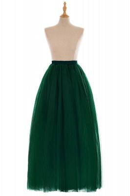 Glamorous A-line Floor-Length Skirt | Elastic Women's Skirts_16