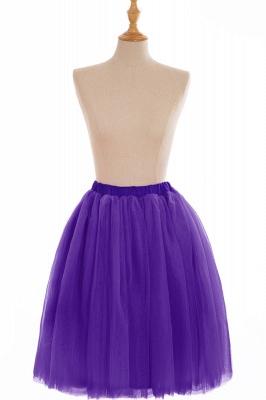 Nifty Short A-line Mini Skirts   Elastic Women's Skirts_12