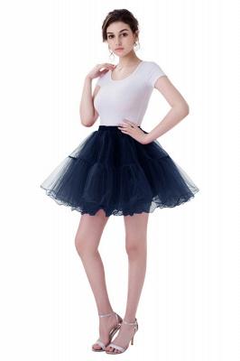 Brilliant Tulle Mini Short A-line Skirts | Elastic Women's Skirts_8